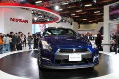 Nissan gtr r35 Royalty-vrije Stock Foto's