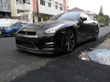 Nissan GTR R35 royalty free stock image