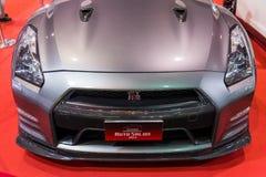 Nissan GTR R35 na pokazie Obrazy Stock