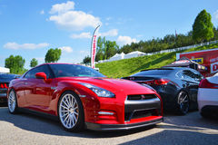 Nissan GTR Royalty Free Stock Images