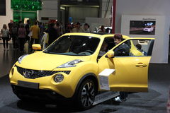 Nissan Juke at the AMI. Leipzig, Germany Royalty Free Stock Photos