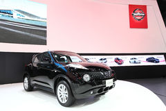 Nissan Juke car on display Stock Photos