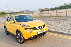Nissan Juke 1.2 DIG-Turbo 2014 Test Drive Royalty Free Stock Photo