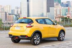 Nissan Juke 1.2 DIG-Turbo 2014 Test Drive Royalty Free Stock Photos