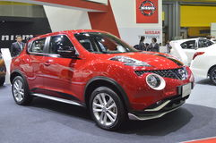 Nissan juke of FAST Auto Show Thailand 2016 Royalty Free Stock Photography