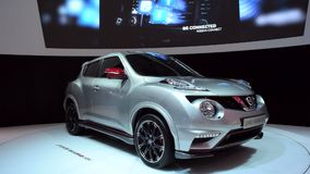 Nissan Juke NISMO RS crossover suv stock video footage