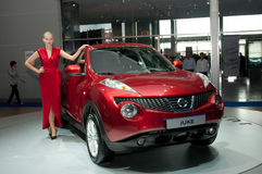 Nissan Juke - russian premiere Royalty Free Stock Photos
