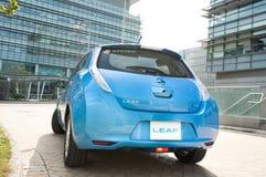 Nissan Leaf Imagenes de archivo