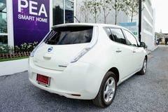 Nissan Leaf, BOI Fair 2011 Thailand Royalty Free Stock Photos