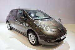 Nissan Leaf Stock Image