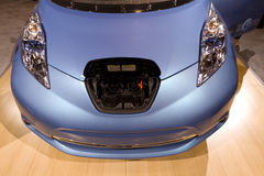 Nissan Leaf Hub Royalty Free Stock Photo