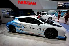 Nissan Leaf Nismo RC electric car Royalty Free Stock Photography