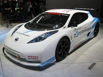 Nissan LEAF Nismo RC Royalty Free Stock Photo