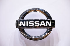 NISSAN Logo Stock Image