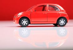 Nissan micra Stock Photo
