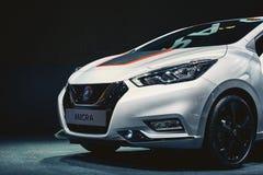Nissan Micra 2017 Arkivfoton