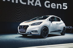 2017 Nissan Micra Royalty-vrije Stock Foto's