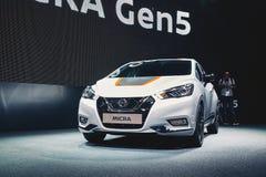 2017 Nissan Micra Stock Afbeeldingen