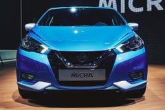 2017 Nissan Micra Royalty-vrije Stock Afbeeldingen