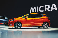 2017 Nissan Micra Stock Afbeelding