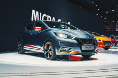 Nissan Micra 2017 Image stock
