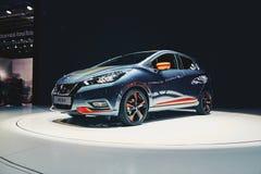 Nissan Micra 2017 Fotografia Stock Libera da Diritti