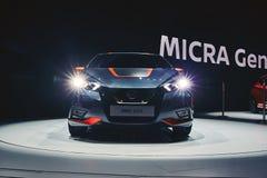 2017 Nissan Micra Royalty-vrije Stock Foto