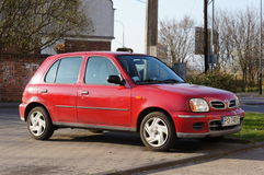 Nissan Micra car Royalty Free Stock Image