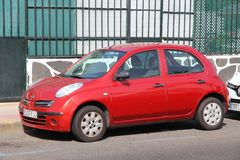 Nissan Micra Stock Photography
