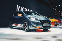 2017 Nissan Micra Stock Image