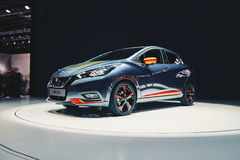 2017 Nissan Micra Royalty Free Stock Photography