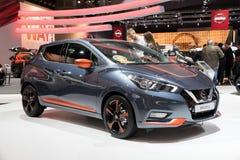 2017 Nissan Micra samochód Obrazy Royalty Free