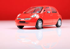 Nissan-Mikrons Stockfotos