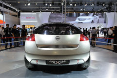 Nissan Mixim Concept car rear Stock Photos
