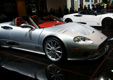 Nissan motor sports car Royalty Free Stock Image