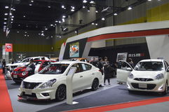 Nissan Motors shop of FAST Auto Show Thailand 2016 Royalty Free Stock Images