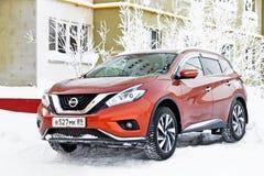 Nissan Murano royalty-vrije stock foto's