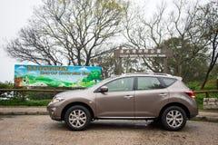 Nissan Murano Green 2012 Lizenzfreie Stockbilder