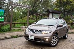 Nissan Murano Green 2012 Lizenzfreies Stockfoto