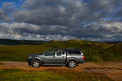 Nissan navara Royalty Free Stock Images