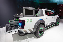 Nissan Navara EnGuard Concept Truck Stock Image