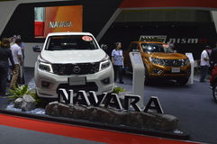 Nissan Navara of FAST Auto Show Thailand 2016 Royalty Free Stock Photos