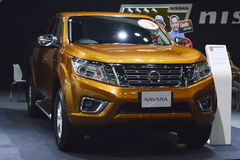 Nissan Navara of FAST Auto Show Thailand 2016 Stock Photo
