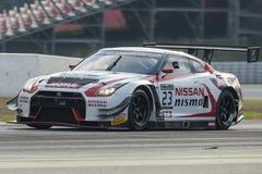 Nissan Nismo GTR GT3 Campeonato de la serie de Blancpain GT fotos de archivo