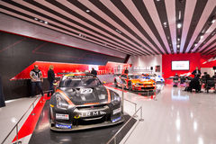 Nissan Nismo Show Room Royalty Free Stock Photos