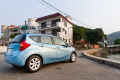 Nissan Note 2012 Immagine Stock