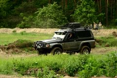 Nissan patrol Royalty Free Stock Photography