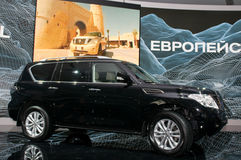 Nissan Patrol - European premiere Stock Photography
