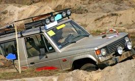 Nissan patrullan Fotos de archivo libres de regalías