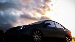 Nissan Primera Stockbilder